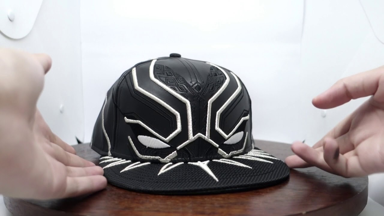 The Arexster Cap Review - Black Panther New Era 59fifty Cap - YouTube 581c2145cf2