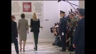 Шерон Стоун прилетела в Варшаву на саммит лауреатов Нобелевской Премии Мира