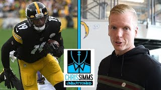 NFL Cheat Sheet: How Steelers can power past Chargers defense | Chris Simms Unbuttoned | NBC Sports