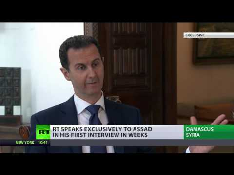 Assad: West is telling Russia that Syrian Army went too far in defeating terrorists (FULL INTERVIEW)