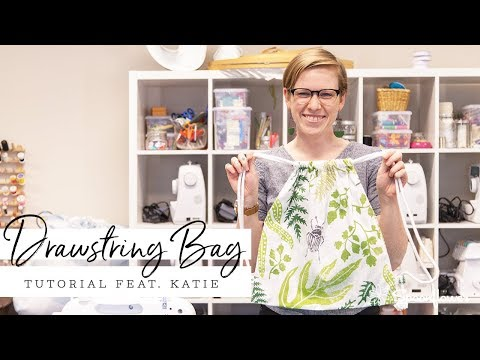 This DIY Drawstring Backpack is a Cinch! | Spoonflower