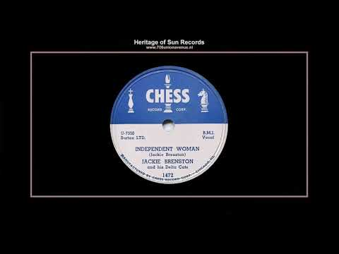 (1951) Chess 1472-B ''Independent Woman'' Jackie Brenston & His Delta Cats