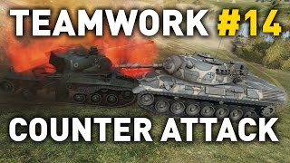 World of Tanks || Counter Attack - Teamwork #14
