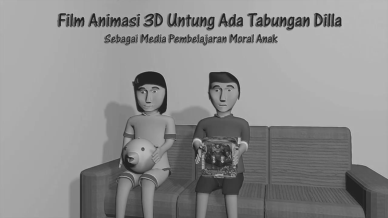 Film animasi 3 dimensi untung ada tabungan dilla