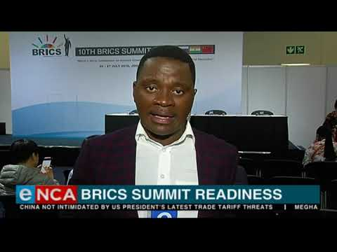 Update ahead of IMC briefing on Brics gathering readiness