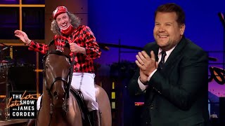 Download The Big Boss Dressed Up as a Jockey