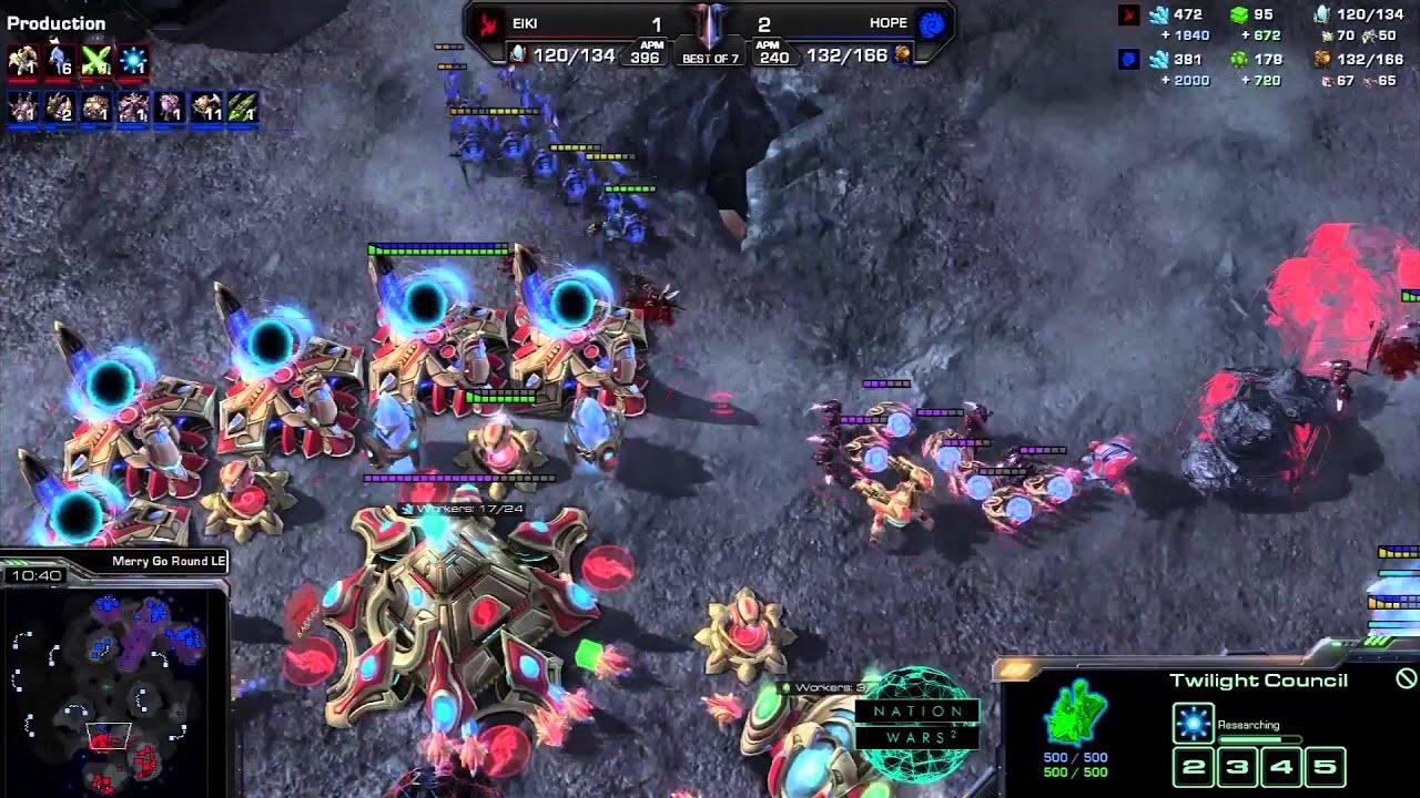 Norway vs. Sweden - Game 4 - Nation Wars - StarCraft 2