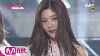 [Produce 101] 1:1 EyecontactㅣJung Chae Yeon – Group 2 SNSD ♬Into the New World EP.04 20160212 thumbnail
