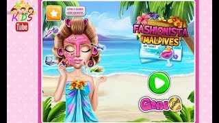 Fun Girl Care Kids Game - Princess Gloria Makeup Salon - Frozen Beauty Makeover Games For Girls