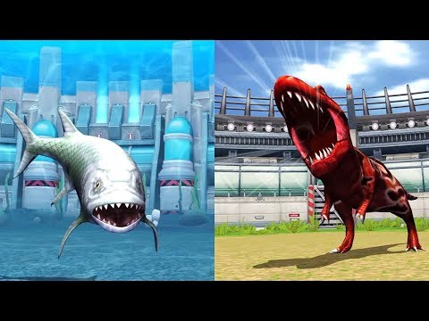 XIPHACTINUS & TYRANNOSAURUS: Jurassic Park Builder - IOS ...