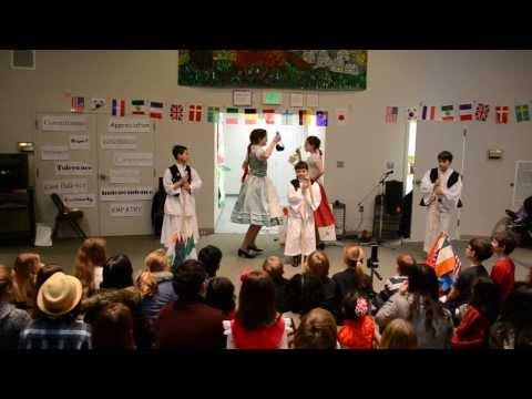 Mézeskalács Néptánc Együttes- Seneca Academy International Day (March 2, 2014)