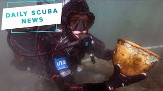 Daily Scuba News - High altitude scuba divers find relics