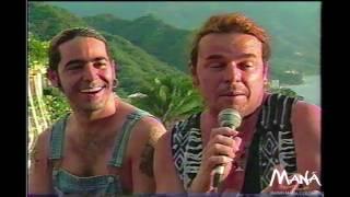 Entrevista Maná 1997 Sueños Liquidos