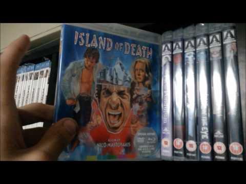 2017 - Complete Horror - Shelf By Shelf - Part 1 : Blu Ray (Arrow Video, Synapse, 88 Films, Kino)