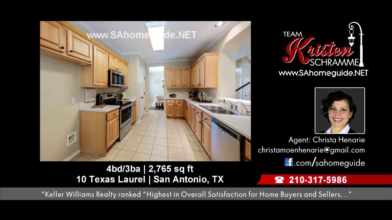 10 Texas Laurel Best Realtor In San Antonio Youtube