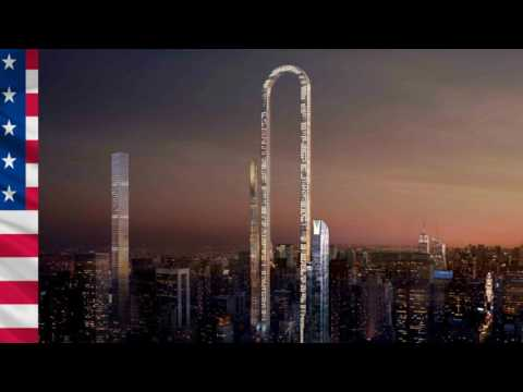 project The Big Bend   skyscraper  600m New York United States