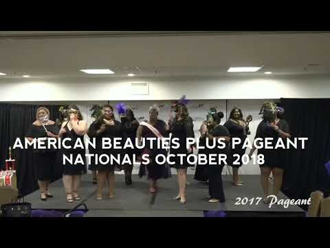 ((American Beauties Plus Pageant)) 2018 Promotional Video