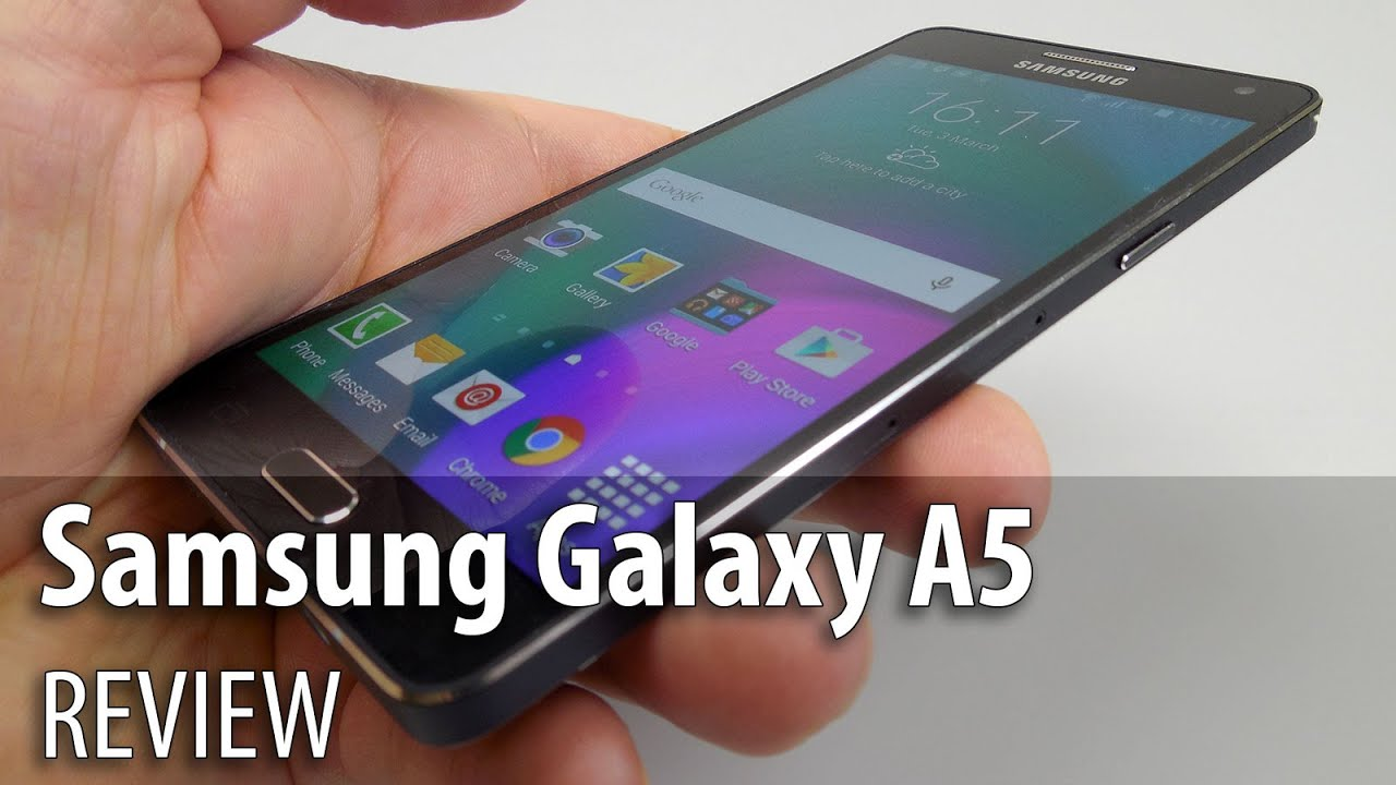 Samsung galaxy a5 review youtube