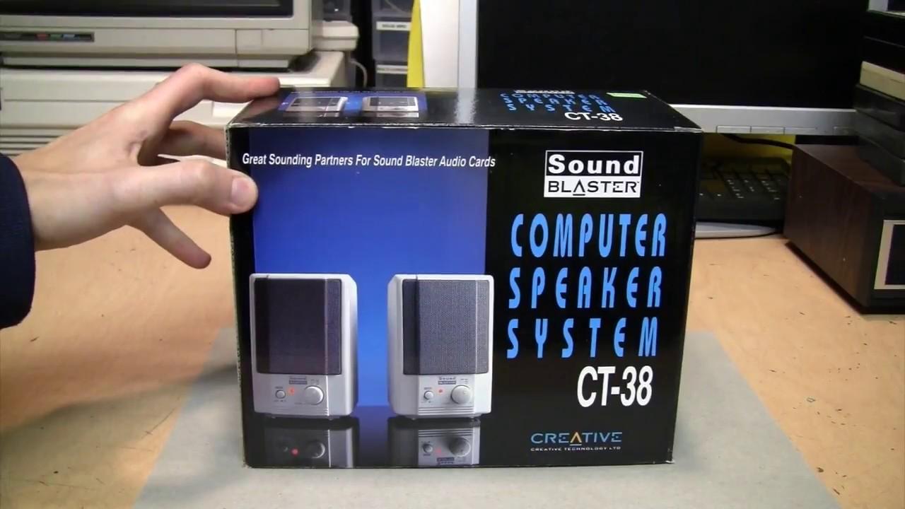 1990s Sound Blaster, er    Labtec computer speakers
