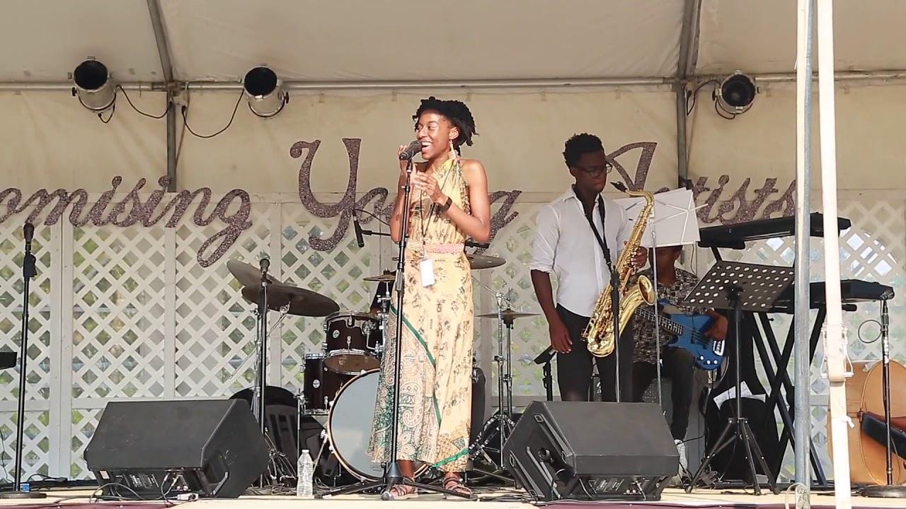 "Imani Rousselle, cover Gretchen Parlato ""How We Love"" - Dallas Riverfront Jazz Festival"