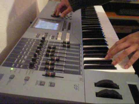 Yamaha Motif XS Demo Vintage Keys 60's,70's and 80's sounds