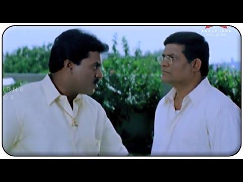 Sunil Warning Tanikella Bharani Sentiment Scene || Manmadhudu Movie