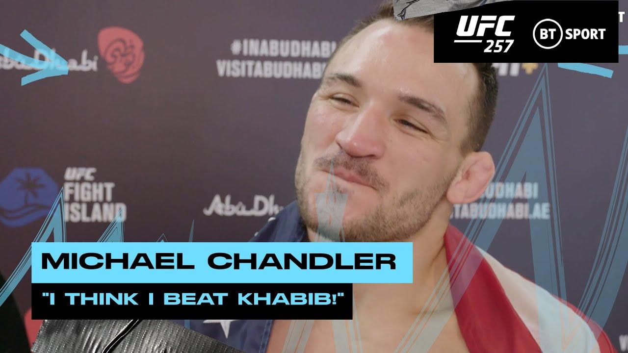 'I'd knock him out' - Michael Chandler calls out Khabib at UFC 257 after Dan Hooker T