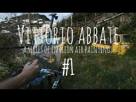 VITTORIO ABBATE - a series of en plein air paintings #1