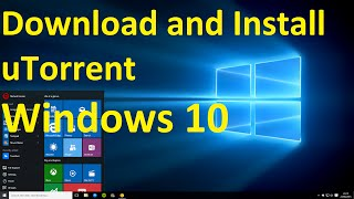 Gambar cover How to Download and Install uTorrent on Windows 10