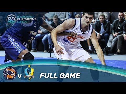 LIVE 🔴 - Tsmoki-Minsk (BLR) vs Budivelnyk (UKR) - Basketball Champions League 17-18