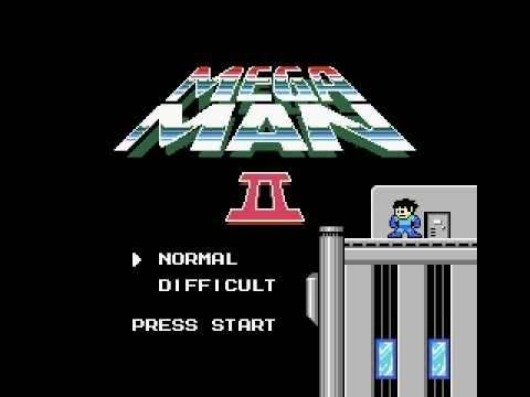 megaman 2 title screen youtube