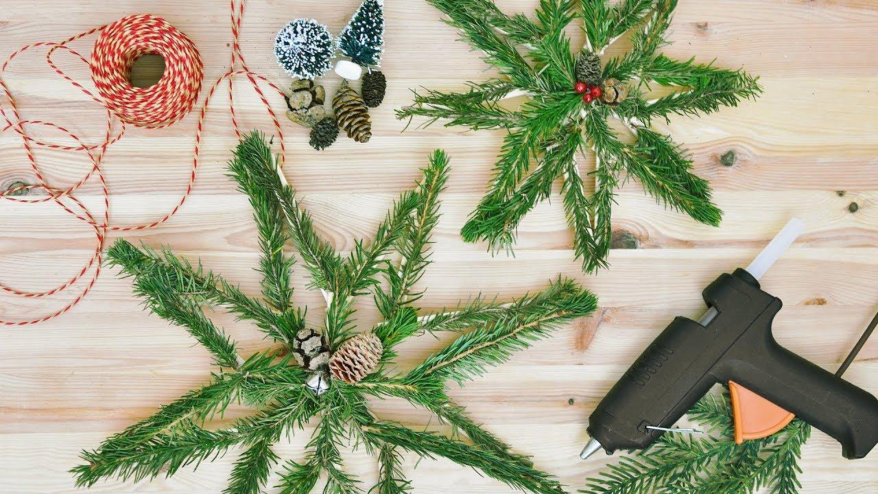 Stelle Di Natale Da Costruire decorazione di natale fai da te - stelle in legno
