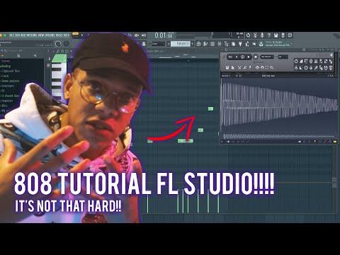 808 TUTORIAL FOR BEGINNERS IN FL STUDIO 20 (808 BASS FL Studio 20 Tutorial)