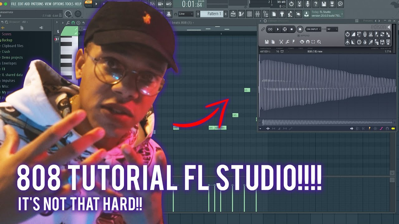 Download 808 TUTORIAL FOR BEGINNERS IN FL STUDIO 20 (808 BASS FL Studio 20 Tutorial)