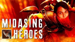 MIDASING HEROES (SingSing Dota 2 Highlights #1436)