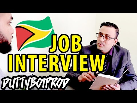 Job Interview With A Guyanese Boss