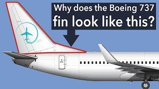 The Boeing 737NG Fin: Why does it look like that?