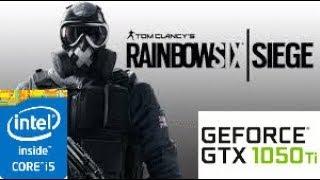 Tom Clancy's Rainbow Six  Siege: GTX 1050 TI 4GB i5 4460
