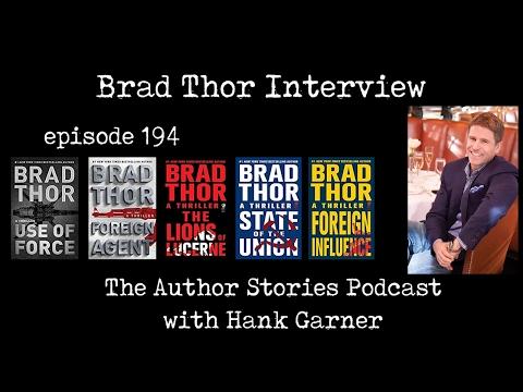 Episode 194   Brad Thor Interview