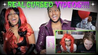 """Shane Dawson """"REAL CURSED VIDEOS!"""" REACTION!!!"""