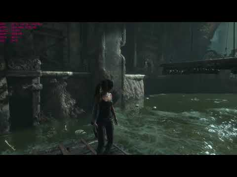 Rise of the Tomb Raider at 4k High settings with MSI R9 390, PC gameplay AMD FX-6300