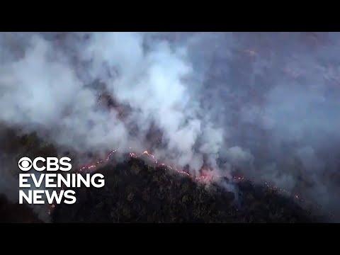 Fires in Brazil's