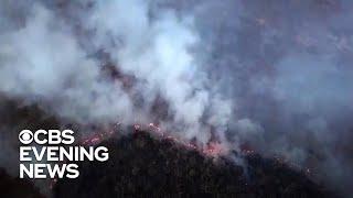 Fires in Brazil's Amazon blamed on deforestation