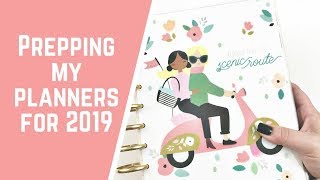 Setting Up My 2019 Happy Planner