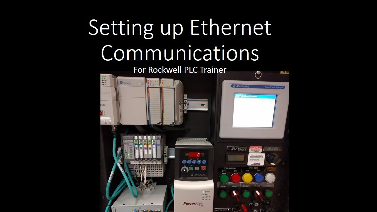 ethernet ip communication setup for 1734 aent and powerflex 40 with allen bradley motor starter wiring diagram ethernet ip communication setup for 1734 aent and powerflex 40 with 22 comm e adapter