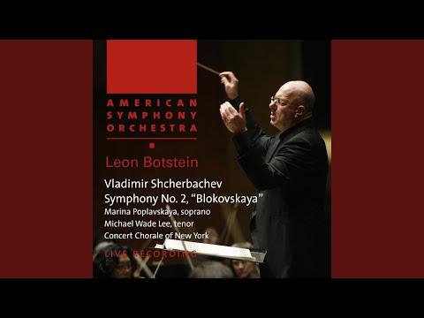 "Symphony No. 2, ""Blokovskaya"": I. Lento"