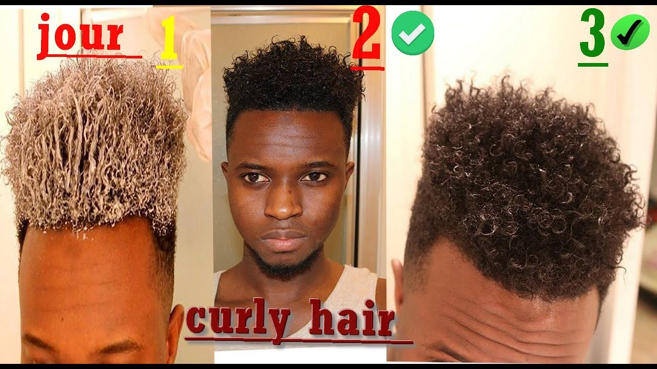 Comment Boucler Ses Cheveux Homme Curly Hair Youtube