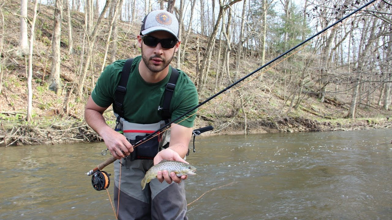 Trout fishing cool spring creek pa youtube for Free fishing day 2017 pa
