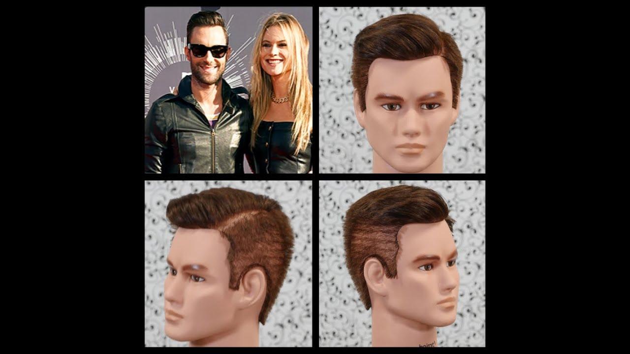 Haircut Tutorial Adam Levine Thesalonguy Youtube