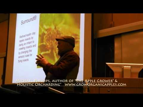 """Apple Grower Michael Phillips presents """"Introduction to Holistic Orcharding"""""""